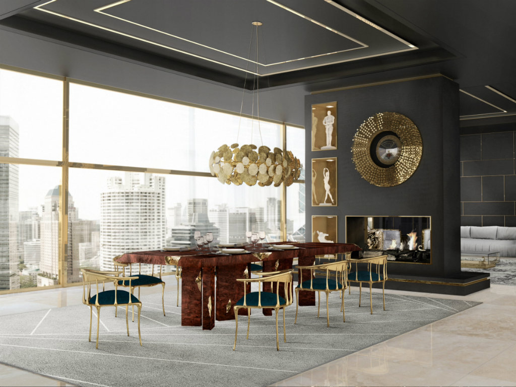 dining table designs Presenting Boca do Lobo's Dining Table Designs ft 5