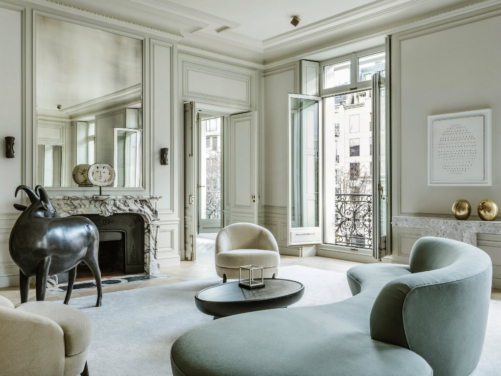 Refined And Contemporary Home In Paris By Joseph Dirand