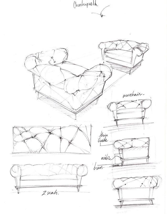 Behind the Scenes: Boca do Lobo Design Sketches sketches Behind the Scenes: Boca do Lobo's Sketches luxury furniture 6 1
