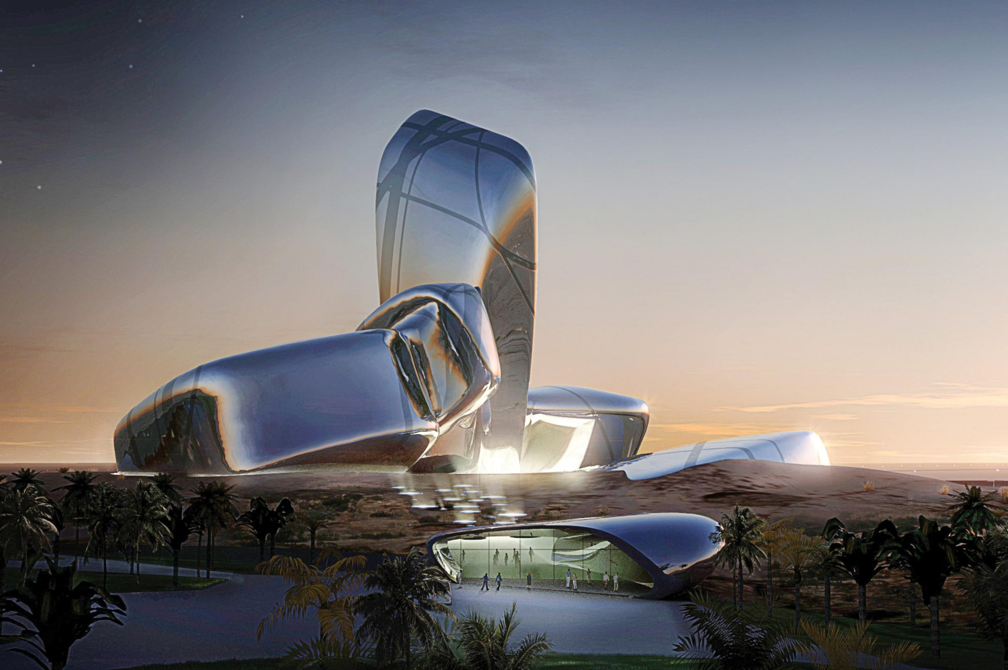 Architecture 5 New Futuristic and Anticipated Architecture Museums Snohetta Adbulaziz