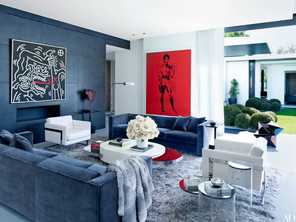 Contemporary Inside Alex Rodriguez's Contemporary and Artsy Miami Home cover 2