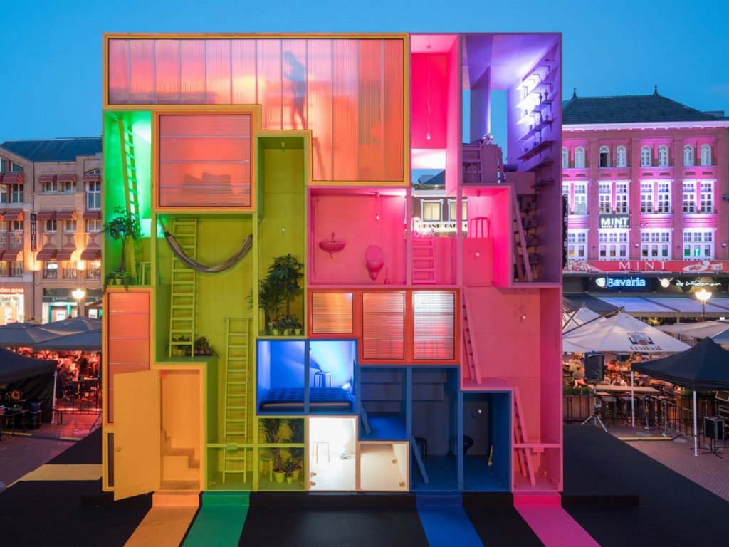 architecture MVRDV Designs Colorful Hotel Architecture at Dutch Design Week cover 5