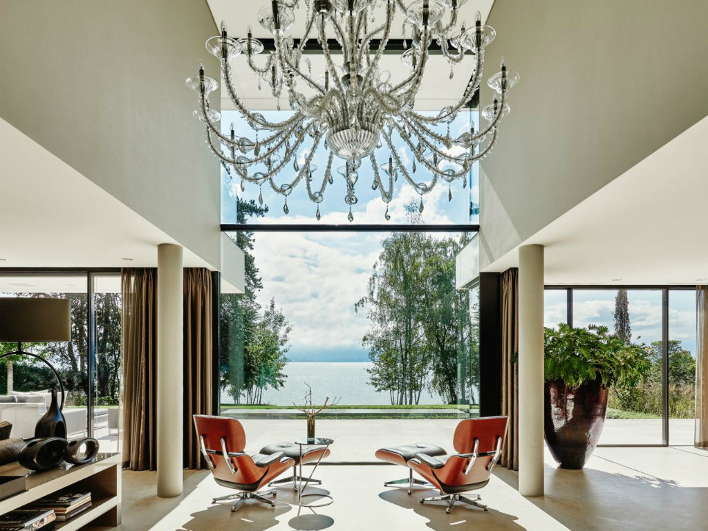 top interior designer The Lakeside Villa in Switzerland by Top Interior Designer Eric Kuster cover
