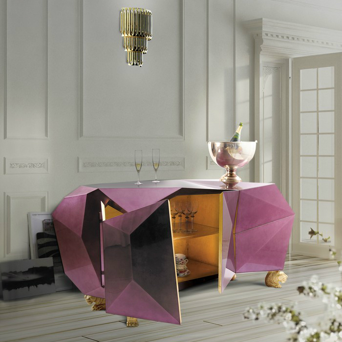 furniture Boca do Lobo Furniture: Diamond Pyrite diamond 05 1 sideboard Diamond Pyrite Sideboard to Celebrate 10 Years of Exclusive Design diamond 05 1