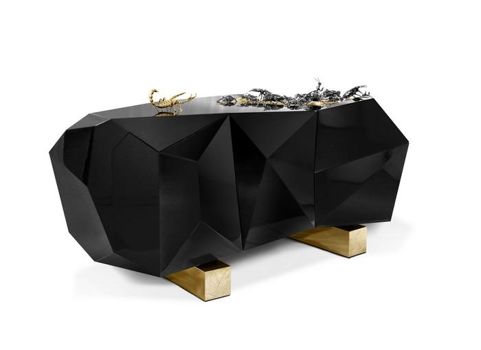 furniture Boca do Lobo Furniture: Diamond Pyrite diamond metamorphosis 01 1 sideboard Diamond Pyrite Sideboard to Celebrate 10 Years of Exclusive Design diamond metamorphosis 01 1