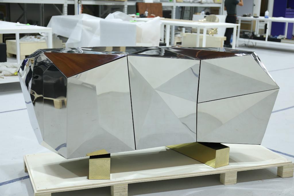 furniture Boca do Lobo Furniture: Diamond Pyrite ft