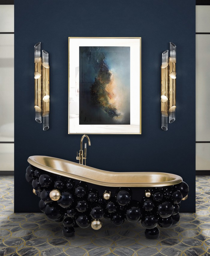 interior design, home design, furniture design, home decor, dining room, dining table, lighting, chandelier, console tables, entryway furniture Newton Mirror: When Art Becomes Design Furniture 26 newton bathtub ring mirror 2 HR 1