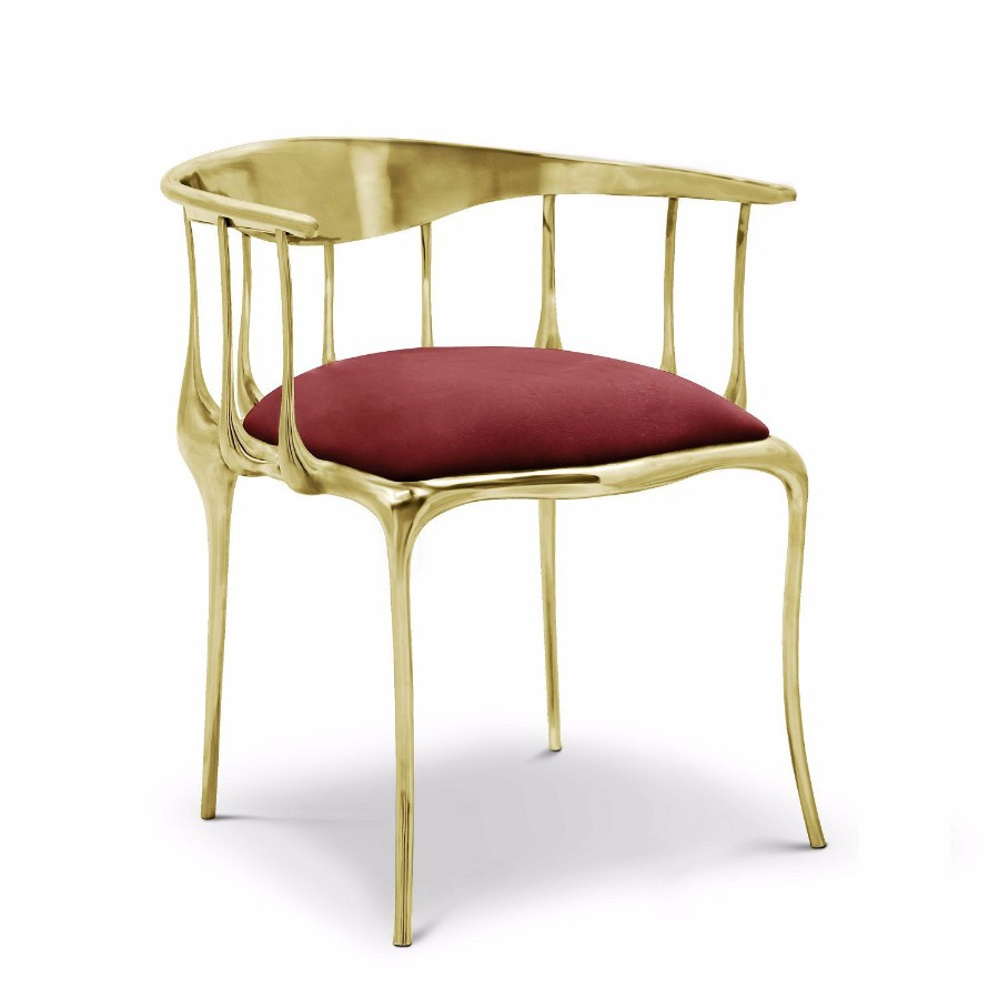 christmas decoration ideas Get Inspired by Golden Luxury Christmas Decoration Ideas Christmas Decoration Ideas n11 chair by boca do lobo