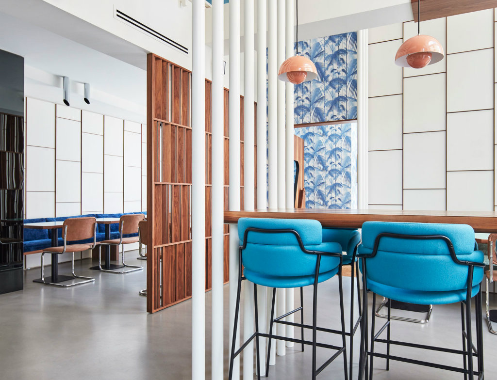 Barca S Eclectic And Modern Restaurant Design By Fabio Fantolino