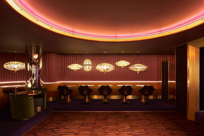 Dimore Studio creates a Decadent and Exclusive Nightclub in London