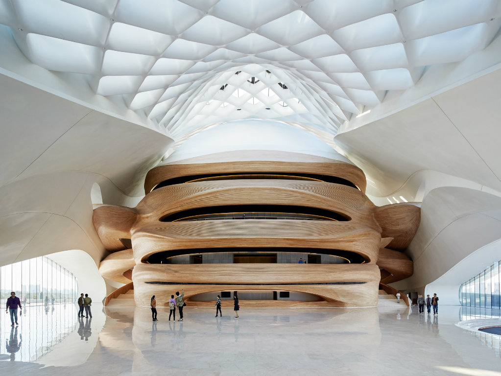building ideas Inspired Building Ideas: The Best Architectural Projects of 2017 MAD Harbin Opera House 011   Hufton Crow