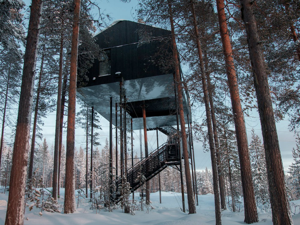 snøhetta Incredible Tree Hotel in the Swedish Forest Designed by Snøhetta cover 4