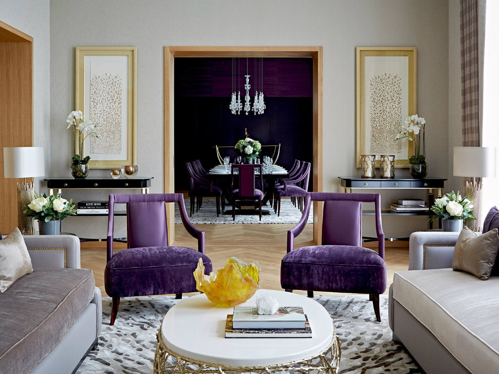 """pantone """"Ultra Violet""""Interiors: Pantone 2018 Color of The Year cover 5"""