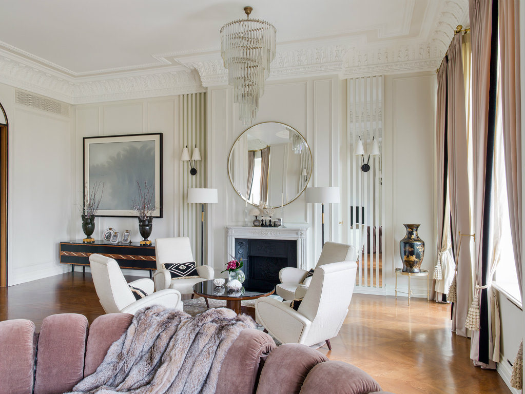 Luxury Apartment Classic and Modern Style Blended in this Luxury Apartment in Moscow COVER