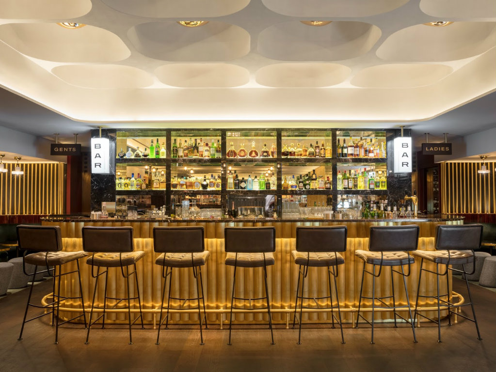 "tom dixon ""Le Drugstore"" Brasserie Revives the Parisian Allure by Tom Dixon cover 10"
