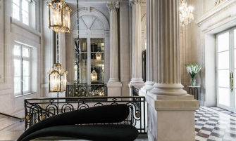 Luxury Hotel Karl Lagerfeld Creates Suit For The Luxury Hotel de Crillon in Paris cover 15 335x201