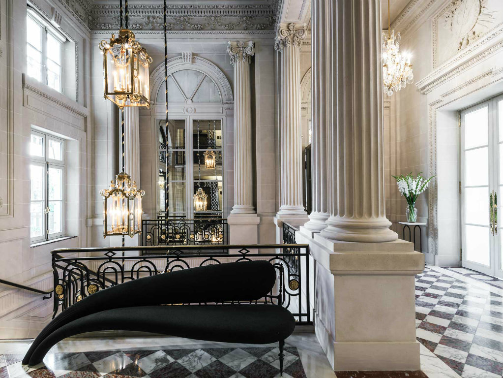 Luxury Hotel Karl Lagerfeld Creates Suit For The Luxury Hotel de Crillon in Paris cover 15