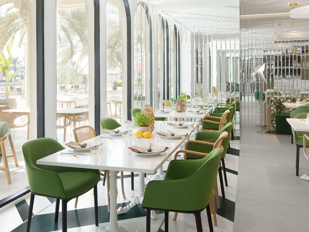 Modern Restaurant Design Blends European And Lebanese Flavors