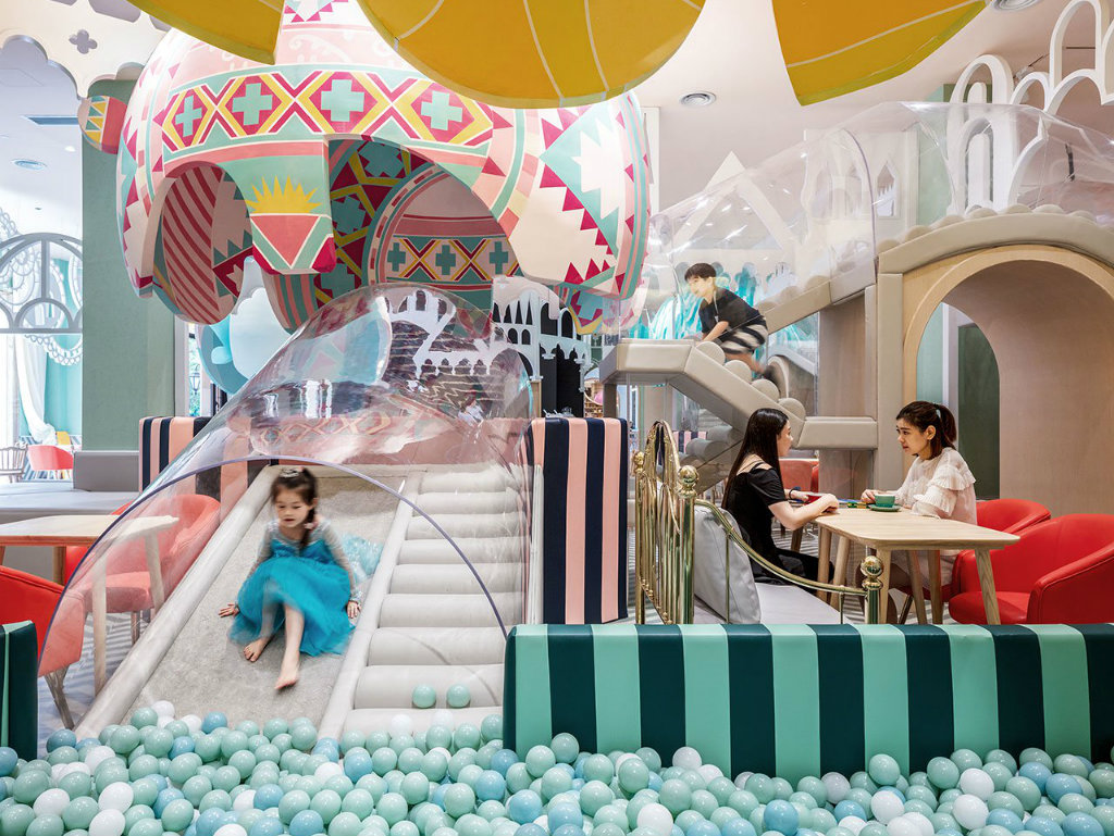 Restaurant Design Neobio Kids Restaurant Design Takes US Into Colorful Fairy Tail cover 18