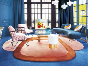 The Most Colorful Contemporary Apartment in Paris