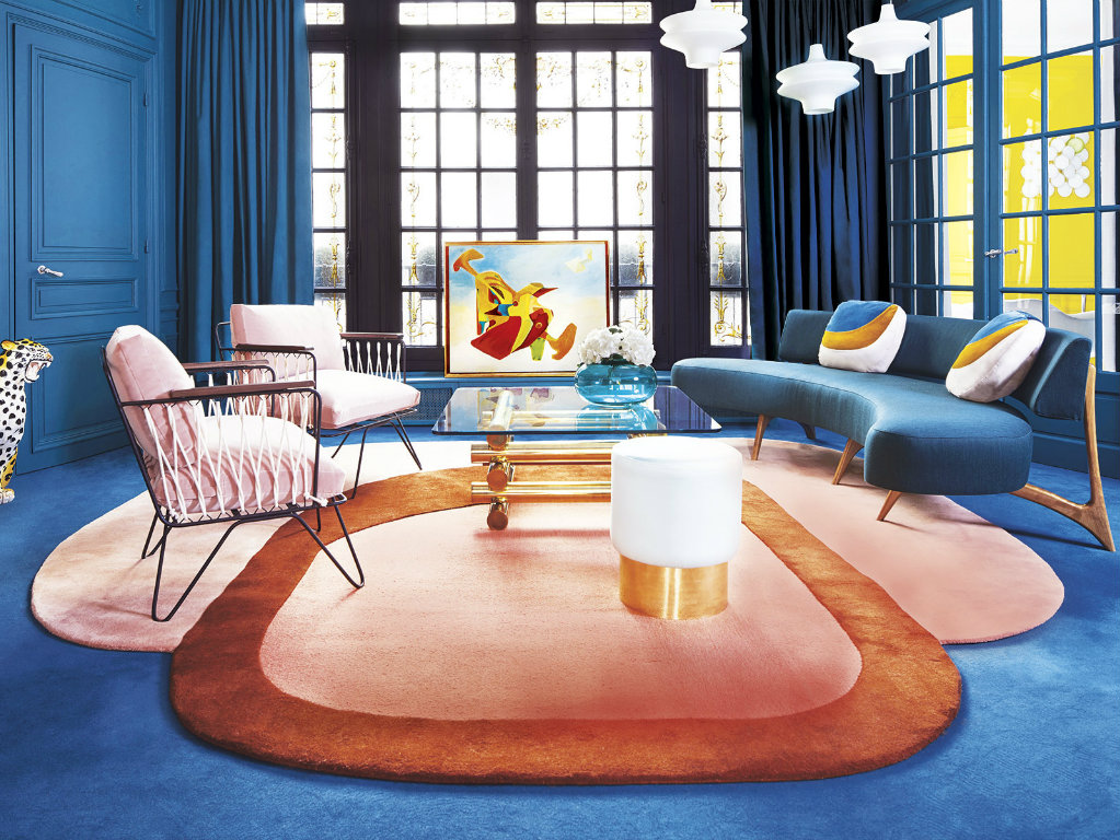 contemporary The Most Colorful Contemporary Apartment in Paris cover 7