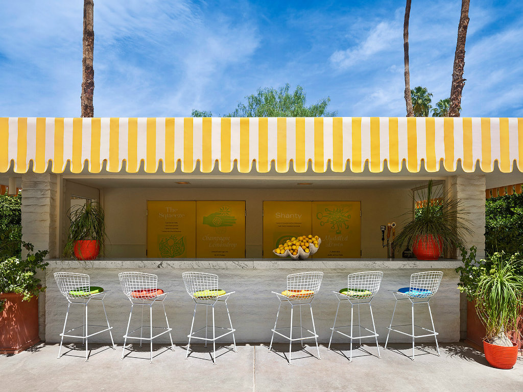 jonathan adler The Splashy Parker Palm Springs Hotel Designed by Jonathan Adler cover