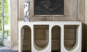 console tables 10 Sculptural Console Tables For Sublime Entryway cover1 2 335x201