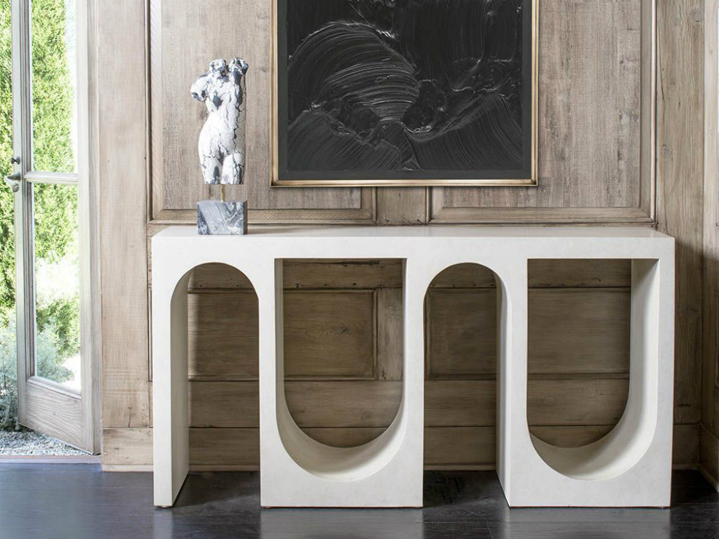 console tables 10 Sculptural Console Tables For Sublime Entryway cover1 2