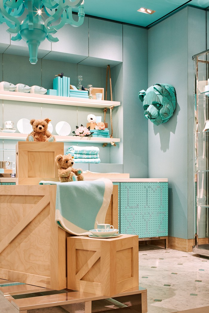 Tiffany & Co Tiffany & Co New Space Creates A Modern Luxury Experience luxury store 6