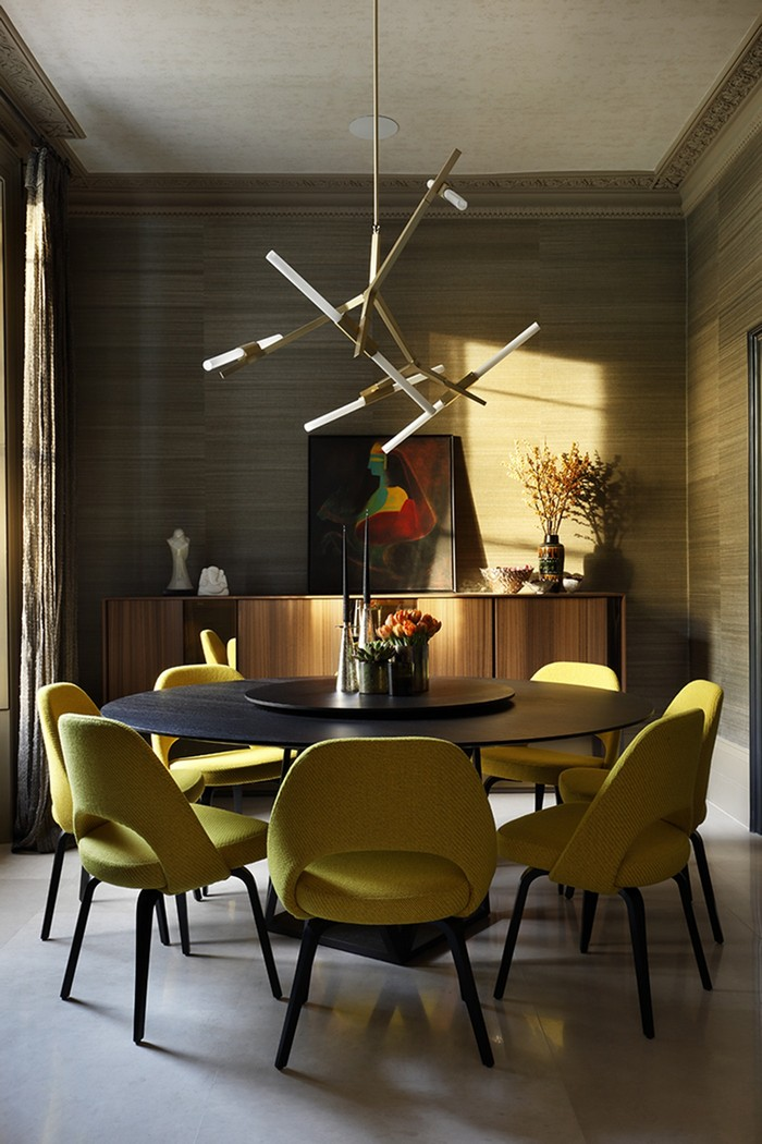 Dining Room Design Ideas Round Table