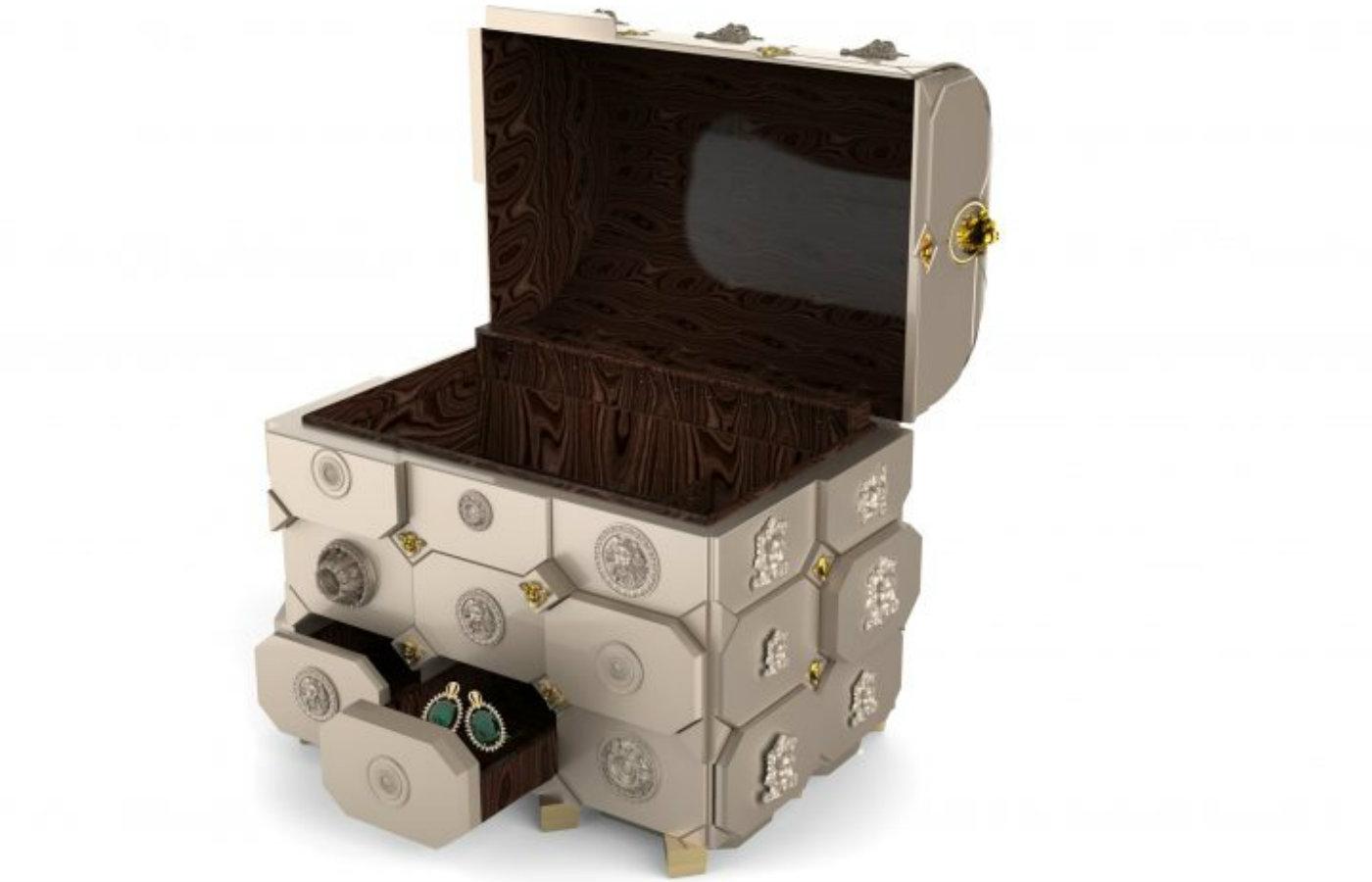 jewellery box Maharaja Luxury Jewellery Box by Boca do Lobo Maharaja Luxury Jewellery Box by Boca do Lobo3 720x531 1400x900