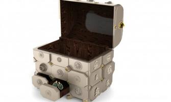 jewellery box Maharaja Luxury Jewellery Box by Boca do Lobo Maharaja Luxury Jewellery Box by Boca do Lobo3 720x531 335x201