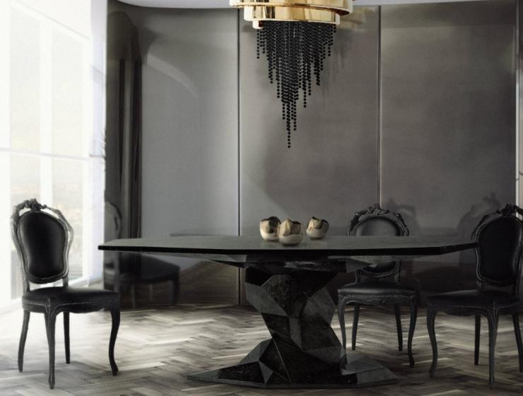 Black Is Back: 10 Modern Furniture Designs