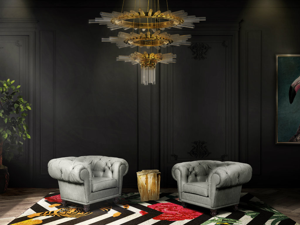 living room design Mysterious and Sophisticated Dark Living Room Design cover 8