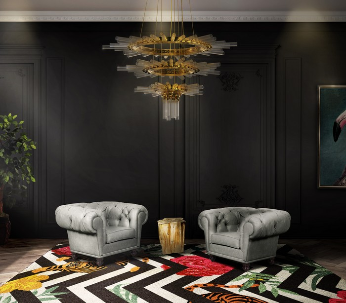 Mysterious and Sophisticated Dark Living Room Design living room design Mysterious and Sophisticated Dark Living Room Design dark decor inspirations 9
