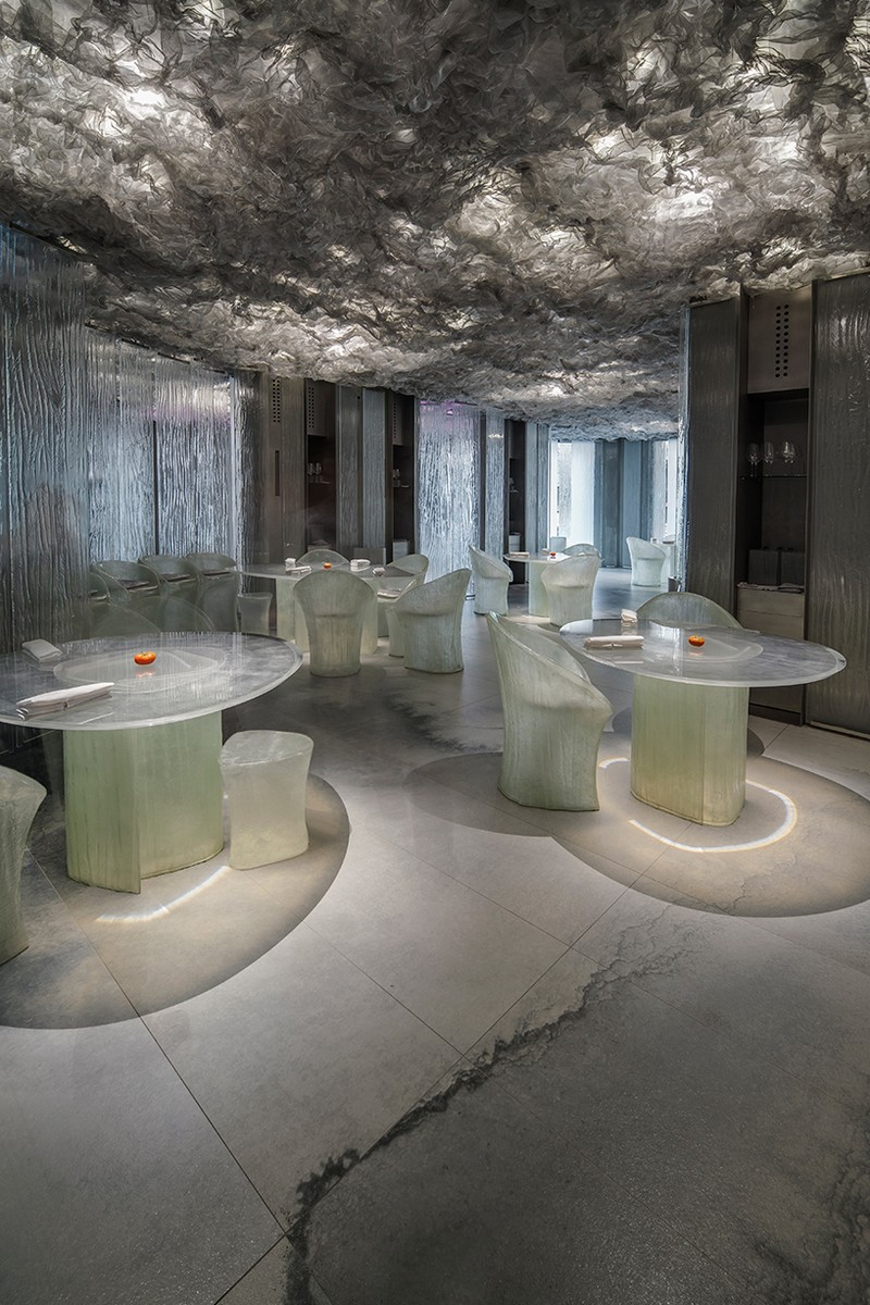 Contemporary Enigma, An Experimental Contemporary Restaurant in Barcelona enigma restaurant inspirations 2