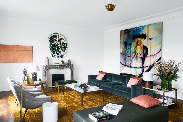 Contemporary and Sophisticated Home Art Gallery in Paris contemporary Contemporary and Sophisticated Home Art Gallery in Paris paris home inspirations 1