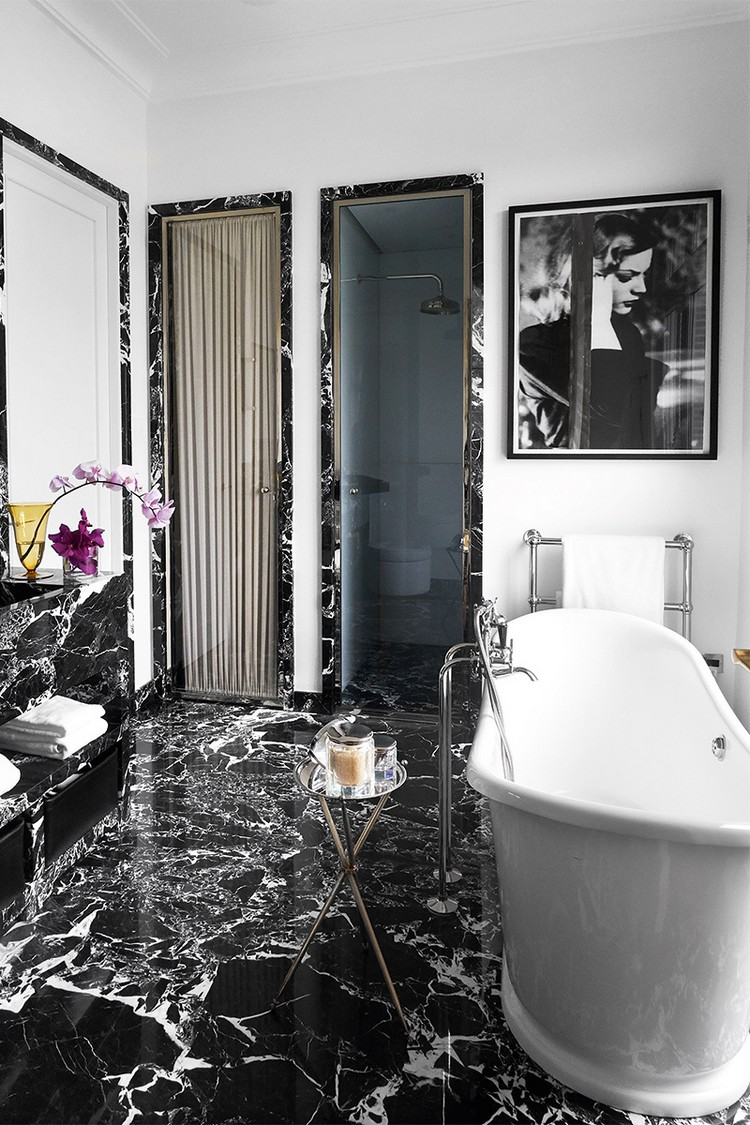contemporary Contemporary and Sophisticated Home Art Gallery in Paris paris home inspirations 3