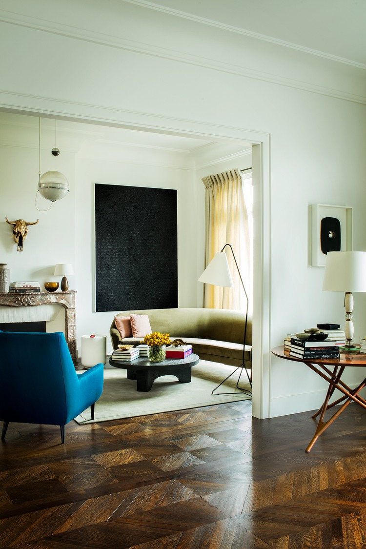 contemporary Contemporary and Sophisticated Home Art Gallery in Paris paris home inspirations 9