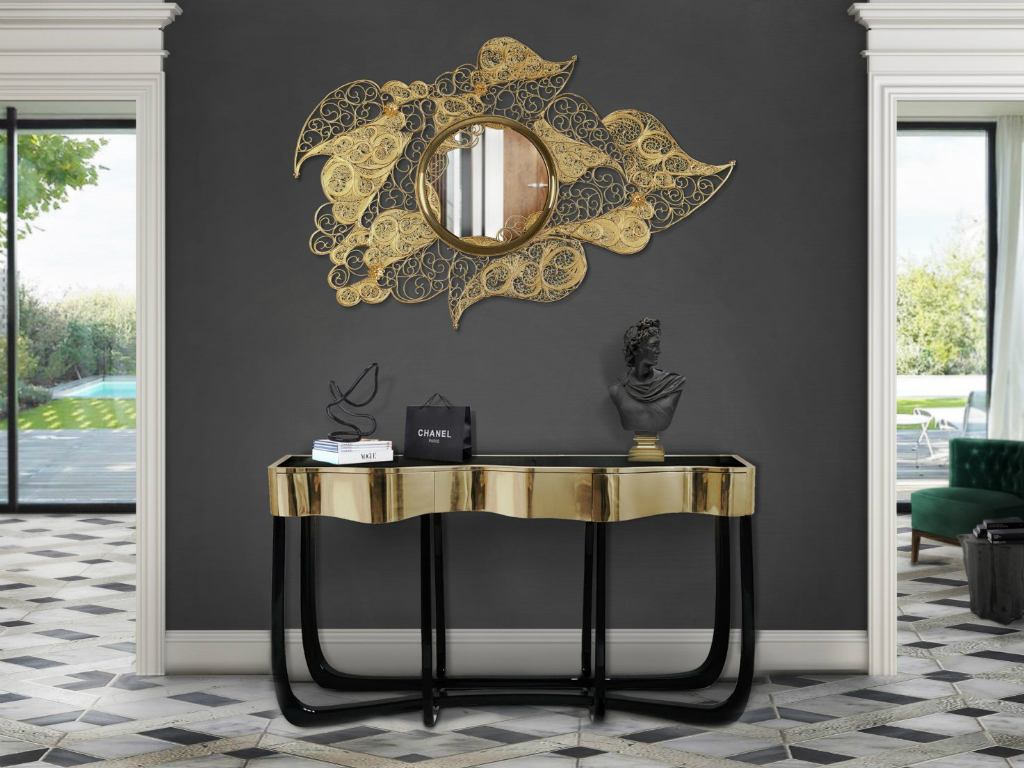 120 Beautiful Wall Mirror Design for Living Room Ideas