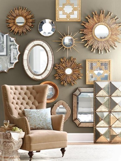 100 Must See Wall Mirror Ideas For Your, Fancy Wall Mirrors For Living Room