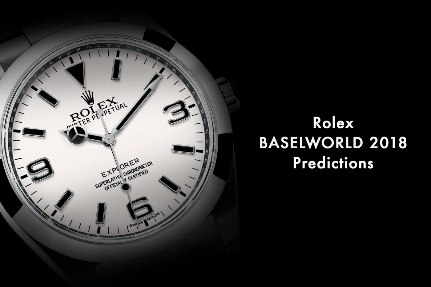 rolex Rolex: The Novelties for Baselworld 2018 Rolex Baselworld 2018 Rolex Predictions 2018 Rolex Novelties 2018 cover 1400x933