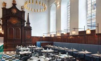 luxury restaurant Historic Church Transformed Into A Luxury Restaurant in London cover 10 335x201