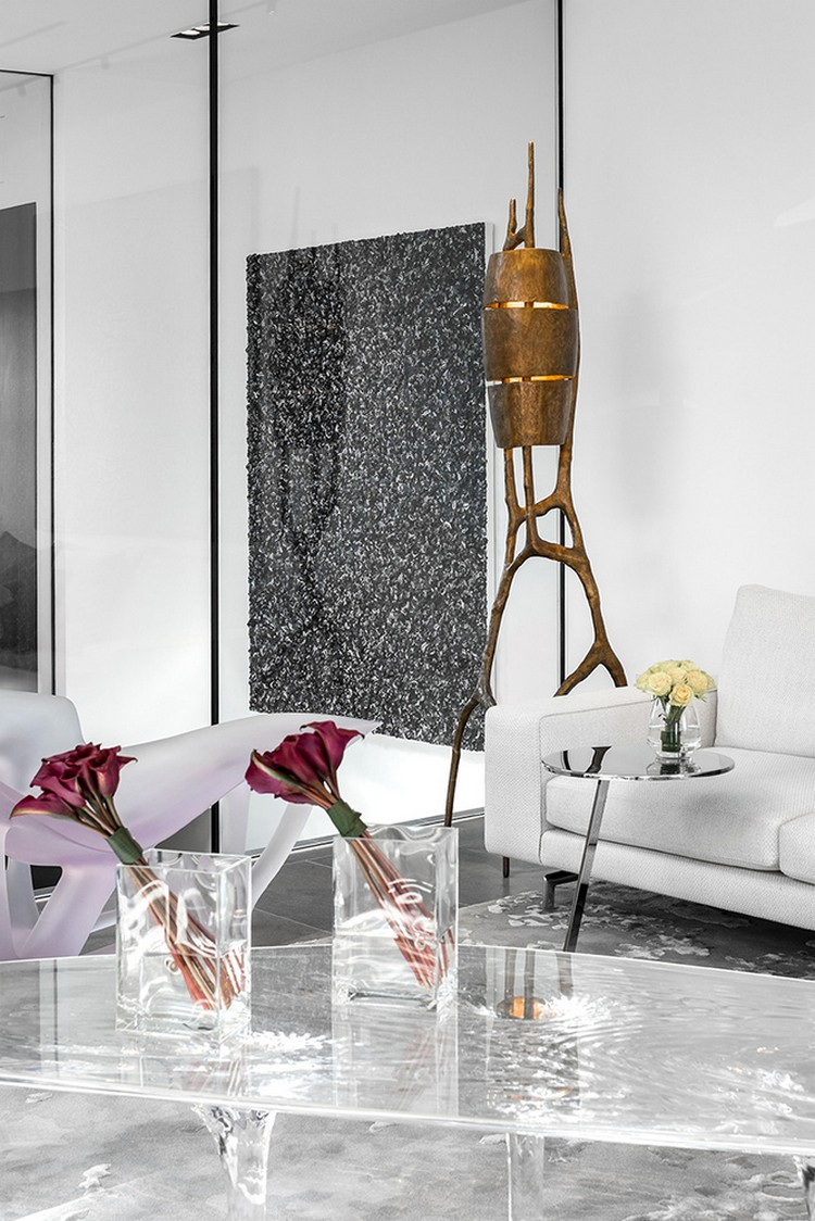 Artsy and Contemporary Penthouse in London by Fernanda Marques contemporary penthouse Artsy and Contemporary Penthouse in London by Fernanda Marques fernanda marques inspirations and ideas 17