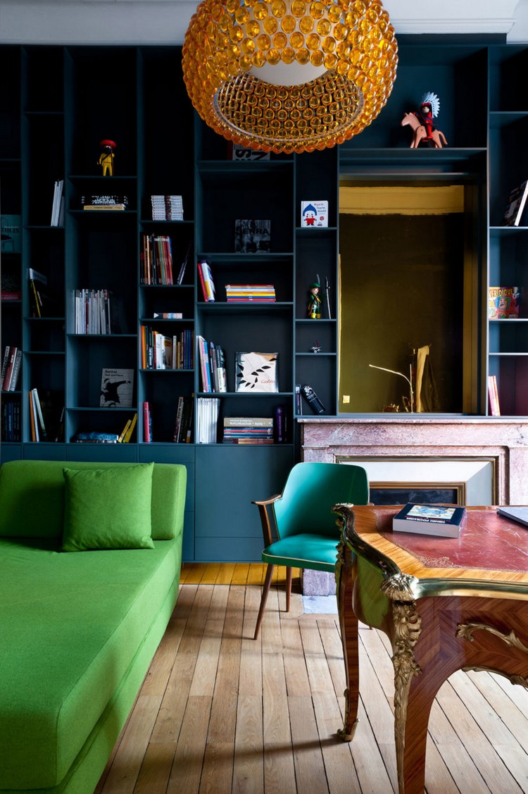 Modern Minimalist and Modern Apartment in the Heart of Paris paris apartement inspirations and ideas 11