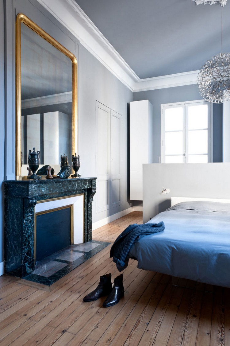 Modern Minimalist and Modern Apartment in the Heart of Paris paris apartement inspirations and ideas 9