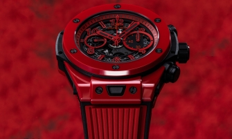 Hublot Hublot: The Big Bang Unico Red Magic big bang unico red magic 41 335x201