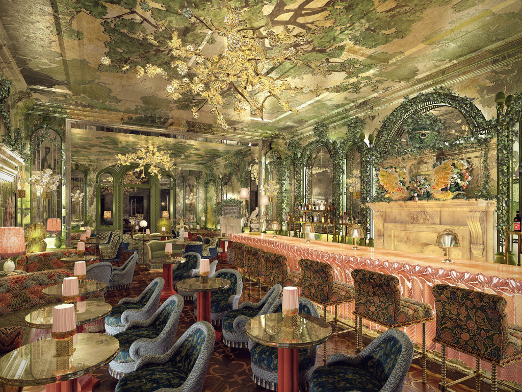 martin brudnizki The Flamboyant Club Annabel's Redesigned by Martin Brudnizki Studio coer3