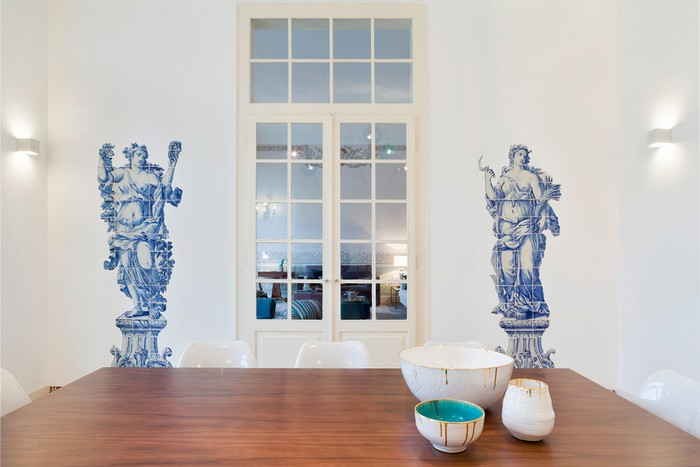 contemporary home An Old Palace Converted Into a Contemporary Home In Lisbon lisbon palace inspirations 2