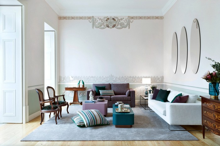 contemporary home An Old Palace Converted Into a Contemporary Home In Lisbon lisbon palace inspirations 7